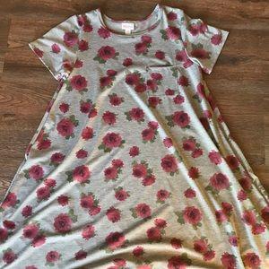 Lularoe floral carly dress